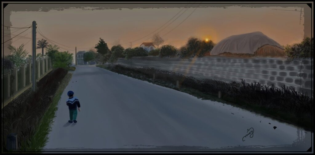 Easy and simple Landscape Painting